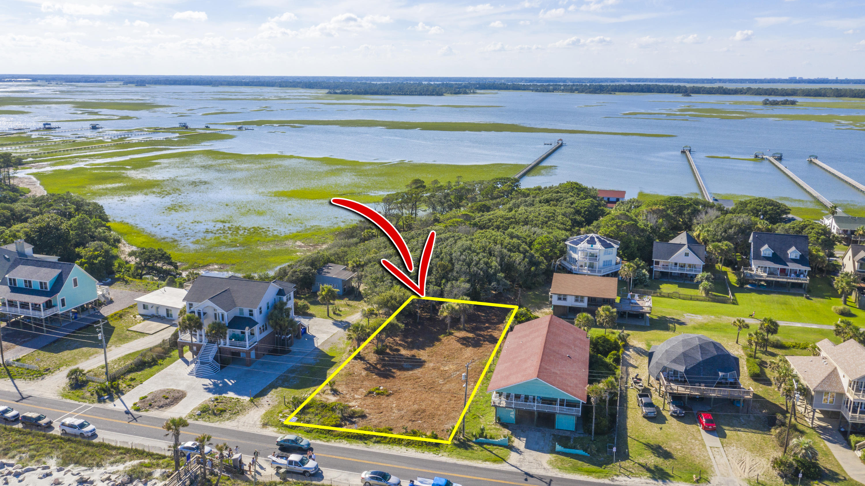 1502 E Ashley Lot C Avenue Folly Beach, SC 29439