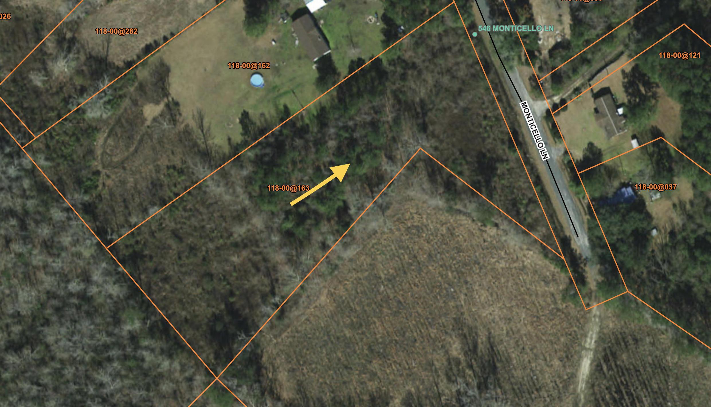 Monticello Lane Cottageville, SC 29435