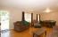 Front door opens to living room and dining combo. Original hardwood floors throughout.