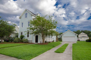 This beautiful three-story home sits on a large lot in a hot neighborhood. From the open-concept kitchen and living space to the large shaded backyard, there is plenty of room for the whole family to enjoy. Situated in the Legend Oaks Golf Course community neighborhood known as ''The Club'', this home will not last!!.  Enjoy the breeze as you sit on one of the porches while enjoying the view and the pond. The first floor has an oversized living room with a fireplace, perfect for entertaining or family hanging out.  There is another living area off the large kitchen and dining room that overlooks the pond in the back yard. Another perfect area for hanging out!! The kitchen has been upgraded with cherry cabinets and corain countertops. The master bedroom is located on the 2nd floor with a la The master bedroom is located on the 2nd floor with a large sitting area as well as a private balcony. Also located on the same floor is the 2nd bedroom with its own private bath and a porch. The 3rd level features two more bedrooms and another full bath.  The generously proportioned interior flows effortlessly from the open-plan living space to the private covered porches from which you can admire the views of the garden and beyond. Overall, this turnkey Charleston style Single family home offers plenty of space and openness for one to enjoy!!!