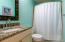 Partially updated bathrooms