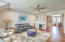 Additional living space upstairs is a perfect media room with wet bar!