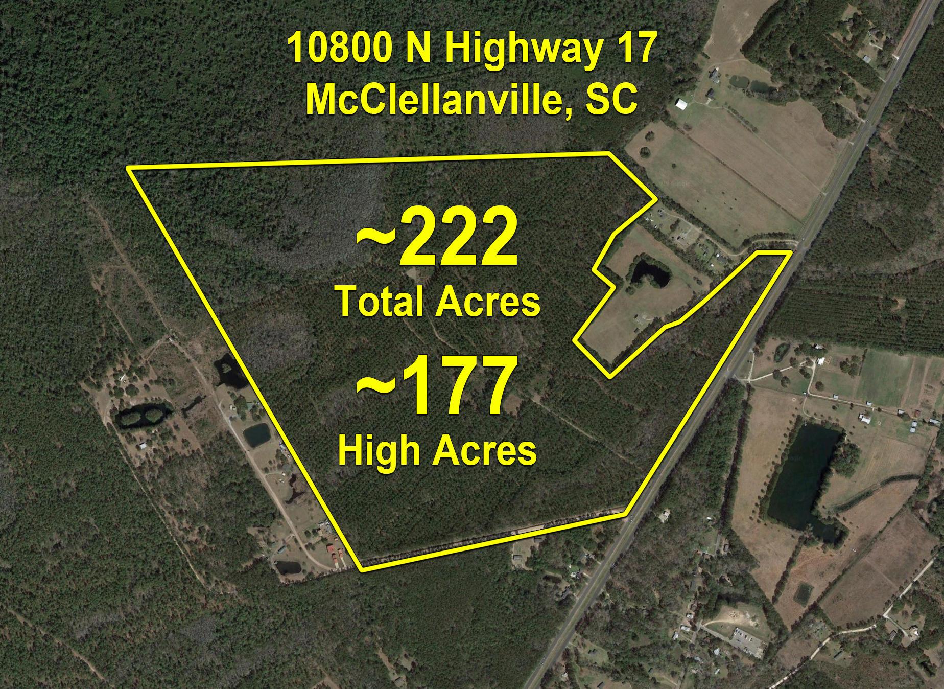 10800 N Highway 17 Mcclellanville, SC 29458