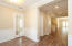 Office on the left as you come in the home - notice wainscoting trim