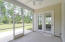 Enjoy sitting on your Screened in Porch