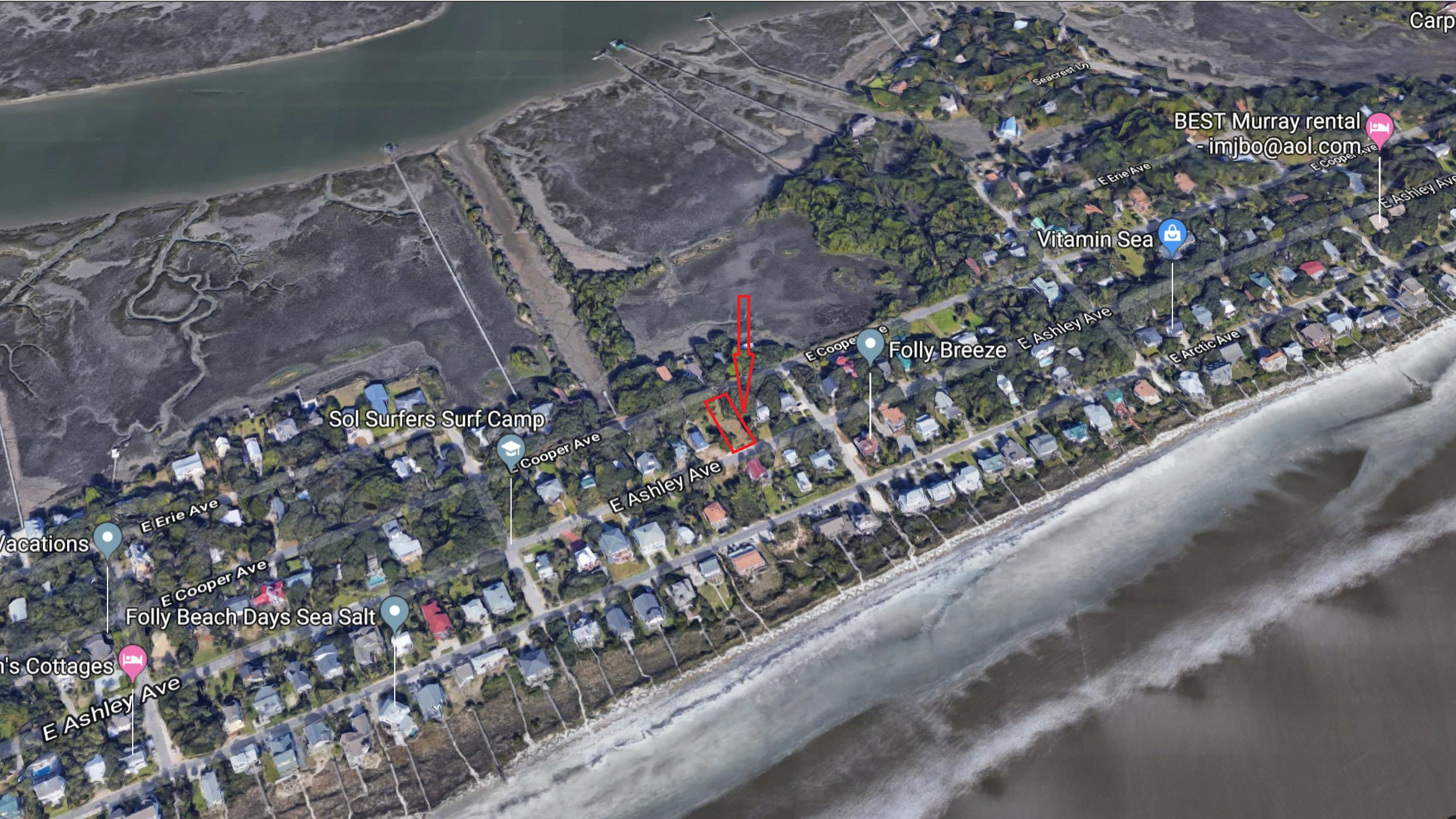 816 E Ashley Avenue Folly Beach, SC 29439