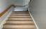 Stairwell carpeted