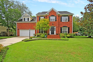 This AMAZING 5 bedroom, 3 bath Executive style home features a saltwater inground pool and can be found in the highly sought after Ashborough neighborhood in the Dorchester II School District. Inside the home you will find a grand 2 story foyer, an open staircase, beautiful hardwood floors, crown molding, and a bright floorplan with a great flow for entertaining and everyday living. The vaulted ceilings, large windows, wood burning fireplace, and multiple french doors provide this home with so much charm and character! The kitchen is filled with white cabinets and boasts gorgeous granite countertops, a double oven, new stainless appliances, and a breakfast area with a bay window featuring a custom built-in bench seat. Make your way upstairs to a spacious Master Suite that offers a vaulted ceiling, a walk-in closet,and a relaxing ensuite bath with a dual vanity, a soaker tub, a separate shower, and a private water closet. The additional second floor bedrooms are all generous in size, and have large closets to provide tons of storage space. The 4th bedroom is the FROG, but this would also make a great media/game room, or second living space. And if you need more room, the main floor office with an attached full bath would make a perfect 5th bedroom, or guest suite! Now step outside to an entertainers dream! The large screened porch and attached deck overlooks the huge backyard that features a privacy fence, childrens playhouse, professional landscaping, and an inground saltwater pool! This provides tons of room for entertaining, grilling out, and watching the kids play! The home is nestled on a large lot on a cul-de-sac street that backs to a wooded buffer in the back of the neighborhood. Ashborough amenities include a neighborhood pool, tennis courts, ball fields, walking/jogging trails, children's playground, and 100 acres of nature preserve that borders the Ashley River. Come see all this home and neighborhood have to offer today!