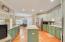 Upgraded Counters, Tile Back Splash & Under-cabinet Lighting