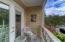 New patio doors to balcony.