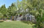 A large lot with beautiful mature landscaping