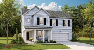 Model Home pictures are being used in presentation.
