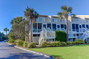 Beach front view