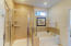 Tub and walk in shower