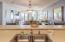 Open floor plan - view from Kitchen to Ocean