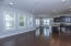 View of Spacious Open Family /Kitchen/Dining Area with Great Views of Wetlands