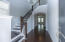 Gracious Foyer with Soaring Ceilings