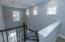 Triple Windows Over Stairwell for better Lighting