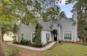This Legend Oaks home offers the  ambiance of tranquility on a mature landscaped lot with a fenced in yard that will delight anyone looking for privacy. No carpet through this home that boasts 4 bedrooms with master downstairs.  Office or dining room is off the fully updated kitchen in which both overlook the back yard.  The kitchen update comes complete with Thomasville cabinets, granite, and new fridge.  Legend Oaks is zoned for sought after Dorchester 2 school district and has 2 pools, 4 lighted tennis courts, 18 hole golf course with clubhouse, a grill offering breakfast, lunch, and dinner. Different memberships available depending on preference of which amenities you would utilize. Legend Oaks is close proximity to shopping and restaurants. 7 miles to Downtown Summerville, 7 miles to Summerville Medical Center, 13 miles to Joint Base Charleston, 17 miles to Boeing, 22 miles to MUSC and VA Hospitals, 23 miles to Downtown Charleston and 25 miles to Volvo.