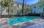 Fenced pool area for owners of 1766 Ion Avenue