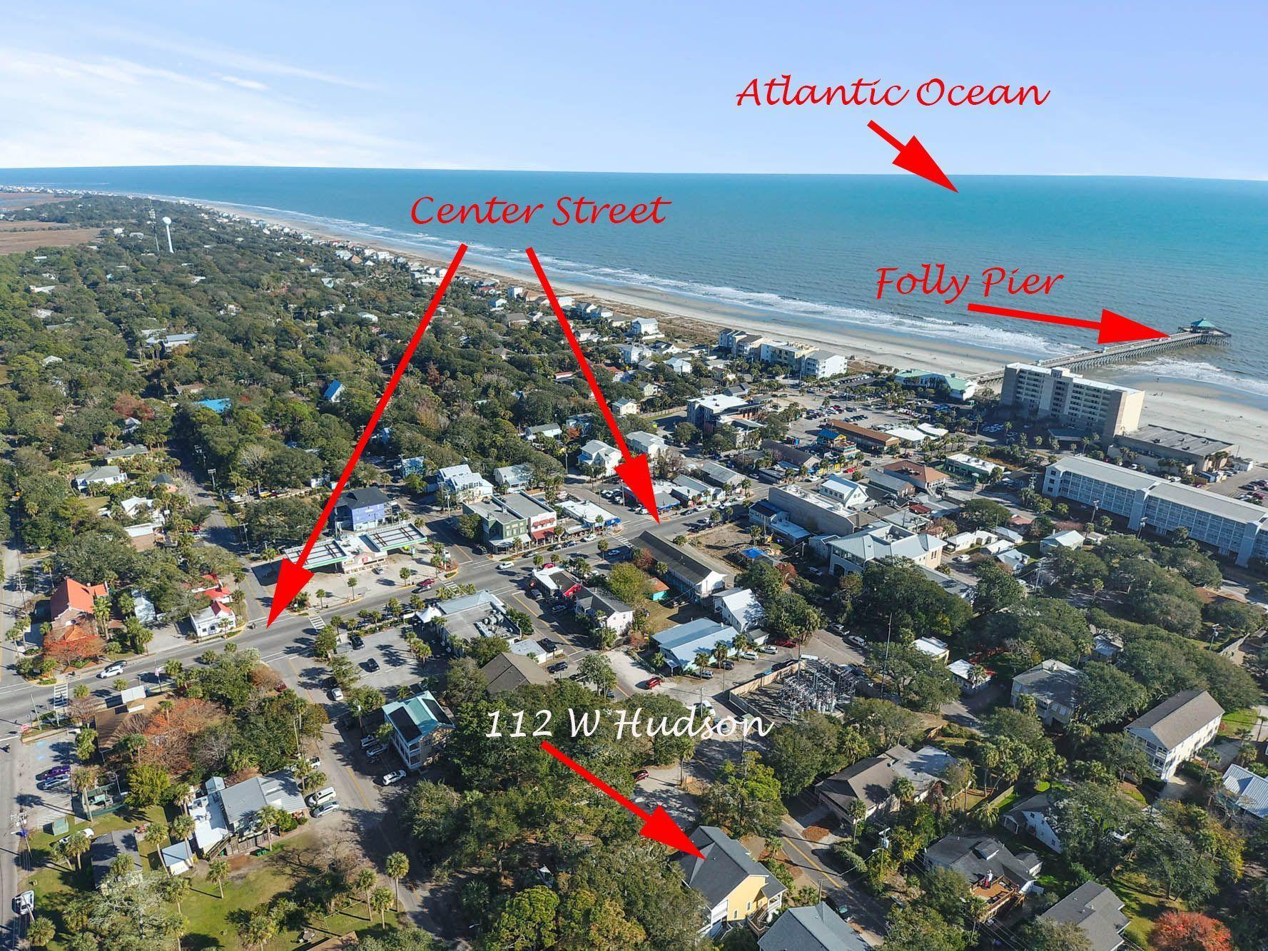 112 W Hudson Avenue Folly Beach, SC 29439