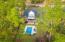 Aerial of yard