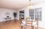 Family room/eat-in to sunroom