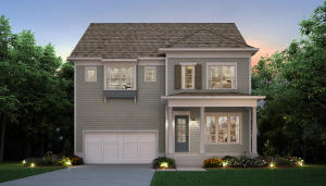 Not actual house. Rendering of a Darien A