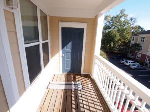 Balcony and Storage Closet