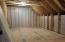 Walk in attic storage upstairs