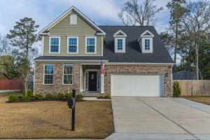 Look no further, this 5 year 'newer' home is sitting on a Half Acre Lot with no HOA, upgrades galore and attends the Award-Winning Dorchester II School District!  There is nothing you need to do but move-in.  It is turn-key ready for you and your family.  The current owners have thought of everything from expanding the driveway, installing a privacy fence in the back yard with a 12ft double gate to store your larger toys in the back yard, installed an irrigation system, built a 495sqft Patio out back of which 370sqft is covered and a built a 12ftX16ft Shed/Workshop in the backyard complete with Electricity.  The home itself is absolutely beautiful.  Upon entering the front door, you are greeted to a very open floorplan with laminate wood floors throughout the entire downstairs. There is a den/study immediately to the left of the foyer and the separate dining room sits adjacent with a trey ceiling to give it more of a defined and finished look.  At the back of the home, the Eat-In Kitchen is completely open to the family room.  The owners spared no expense with the kitchen as they upgraded to a Gourmet Kitchen that features Stainless Appliances (Gas Cooktop, Microwave, Double Wall Ovens and a brand-new Dishwasher), Upgraded Kitchen Cabinets (soft close and pullouts), Tiled Backsplash and Granite Countertops with an extended island.  The kitchen is completely open to the generous sized family room that has a corner gas log fireplace installed.  The back of the home has plenty of windows letting in natural light and over-looking the very private back yard.  It is a perfect setup for entertaining with the large covered back patio that has two ceiling fans installed and fits plenty of outdoor furniture.  Upstairs are 3 generous sized bedrooms plus a nice size loft for an extra flex space.  The master suite has a trey ceiling in the bedroom, a 5ft walk-in tiled shower, dual raised vanities with granite countertops and a huge walk-in closet.   The laundry room is also loca