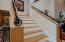 Handmade staircase railing