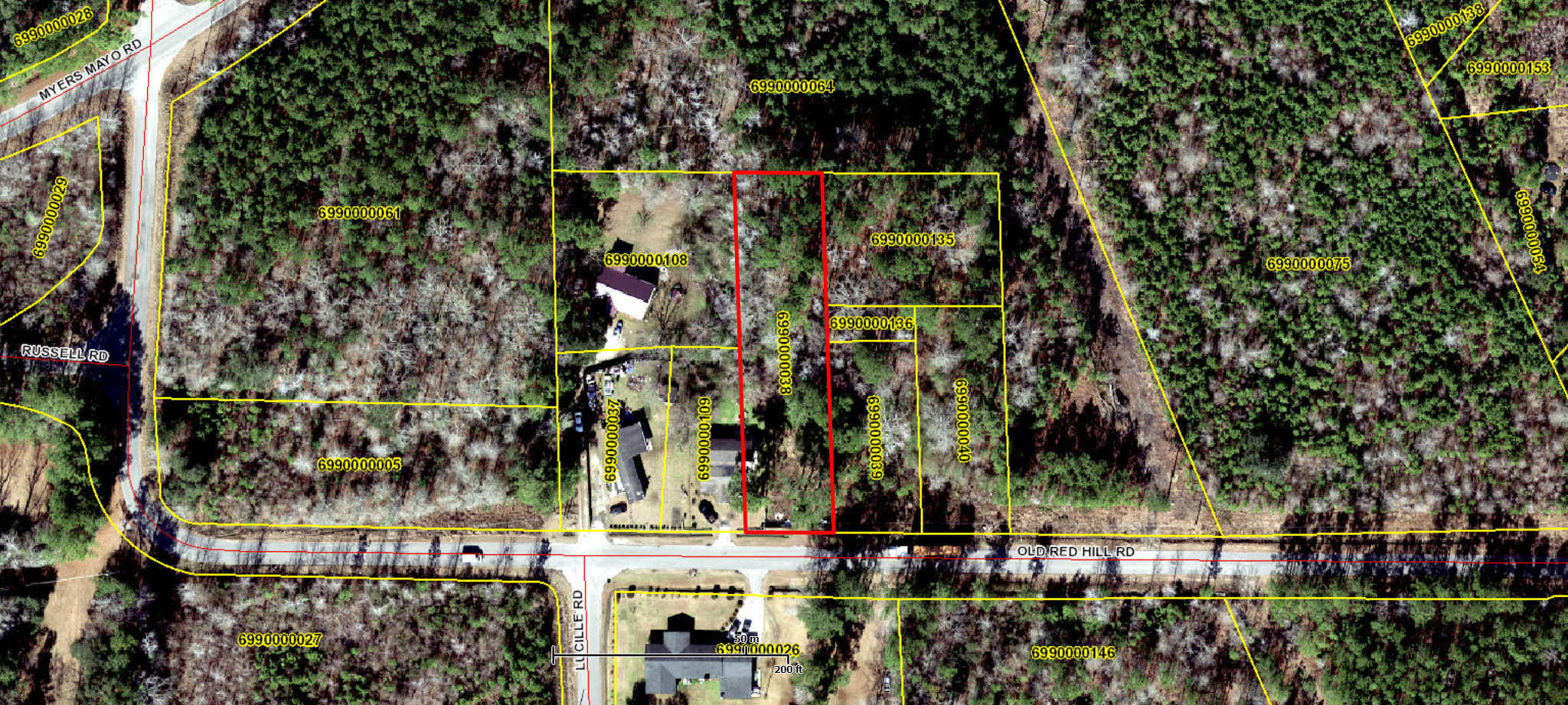 Old Red Hill Road Ridgeville, SC 29472