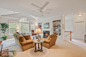 Light Filled Great Room Overlooking Wooded Area