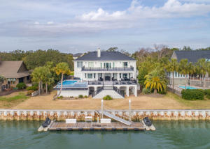 This property has it all, a beautiful home, gorgeous pool, deep water dock with all of the privacy of Wild Dunes.