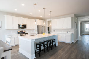 Light Airy and Open Kitchen