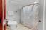 Full Bath serving 2nd floor Bedroom and Media Room