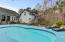 Beautiful salt water pool pool has recently been resurfaced!