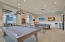Billiards room off main hall