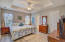 Large Master Bedroom with Tray Ceiling - and Dual Closets!