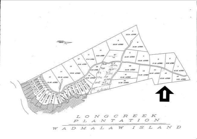 Long Creek Road Wadmalaw Island, SC 29487