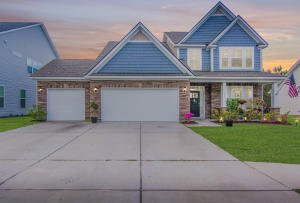 Beautiful Stone, a large front porch and a 3 car garage greets you upon pulling in.