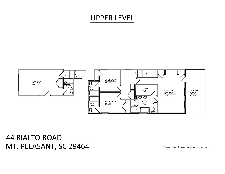 44 Rialto Road Mount Pleasant, SC 29464