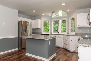 Beautiful open kitchen completely remodeled.