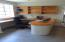 Built-in desk and cabinet, Nice carpentry