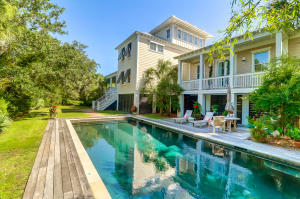 Sophisticated home on Sullivan's Island with Indoor/Outdoor living floor plan!