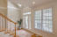 Bright and airy foyer