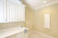 Laundry room - washer & dryer from ground floor convey