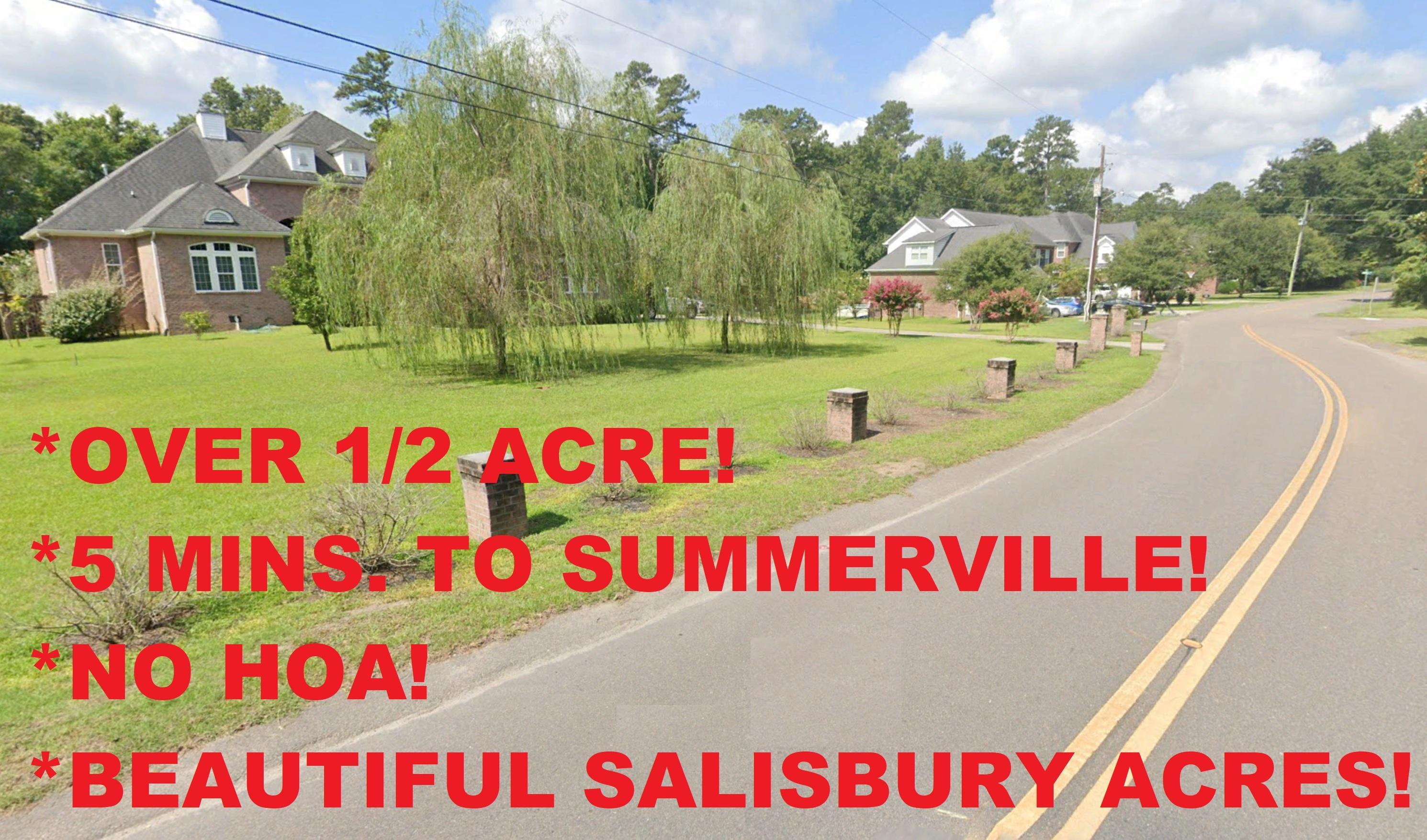 Wannamaker Avenue Summerville, SC 29485