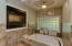Spa like owner suite bath with fireplace, soaker jacuzzi tub